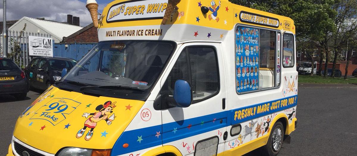 adam ices ice cream van hire in peterborough. Black Bedroom Furniture Sets. Home Design Ideas